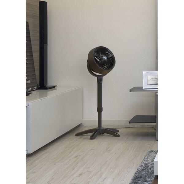 Medium Pedestal Whole Room Air Circulator 17 Floor Fan by Vornado