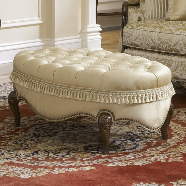 Imperial Court Cocktail Ottoman by Michael Amini