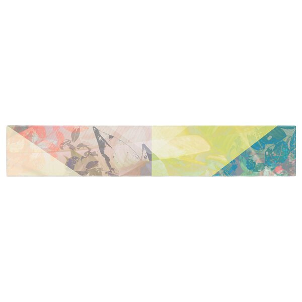 Gabriela Fuente Patch Garden Table Runner by East Urban Home
