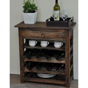 Torrington Shabby Elegance 8 Bottle Floor Wine Rack by August Grove