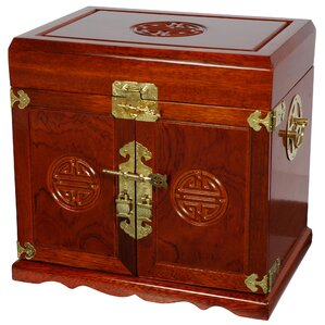 Lacquer Jewelry Armoire by Oriental Furniture