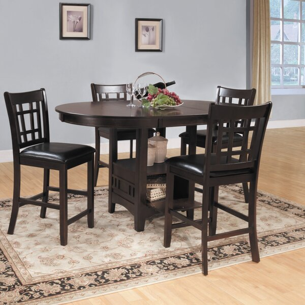 Araiza Counter Height Extendable Dining Table by World Menagerie