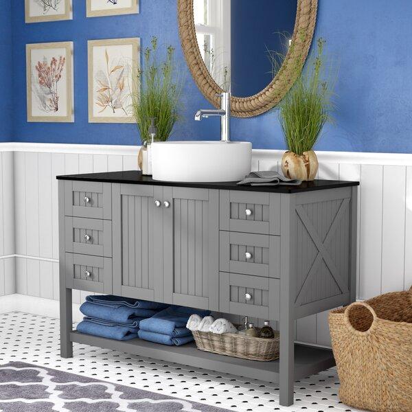 """Nadel 48"""" Single Bathroom Vanity Set by Beachcrest Home"""