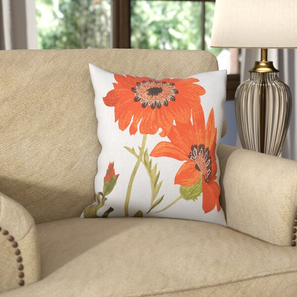 Le Tournesol Pillow Throw Pillow by Darby Home Co| @ $48.60