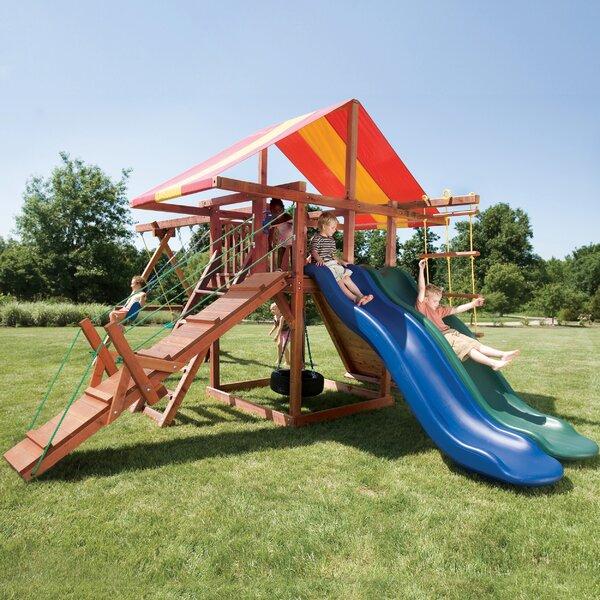 Redwood Big Top Swing Set by Kids Creations