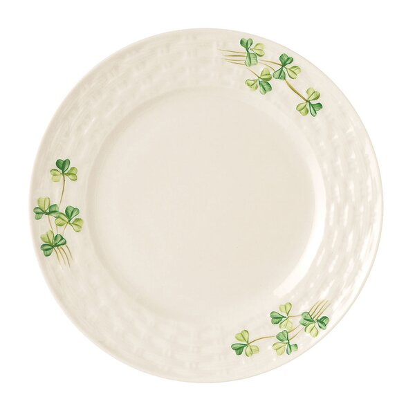 Shamrock 7.5 Butter Plate by Belleek Group