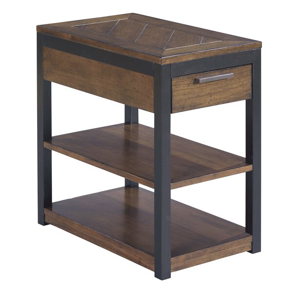 Huntsberry Wood Top End Table By Brayden Studio