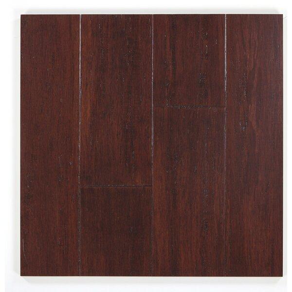5 Engineered Bamboo  Flooring in Flintlock by Bamboo Hardwoods