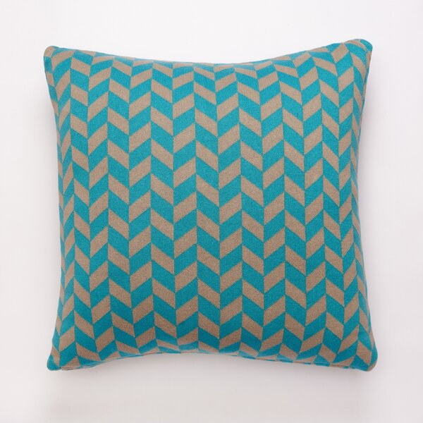 Polygon Cotton Throw Pillow by Darzzi