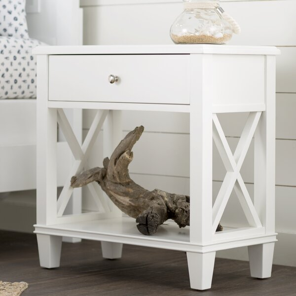 Flintridge End Table with Storage by Beachcrest Home Beachcrest Home