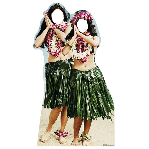 Stand-Ins Hawaiian Hula Girls Life Size Cardboard Standup by Advanced Graphics