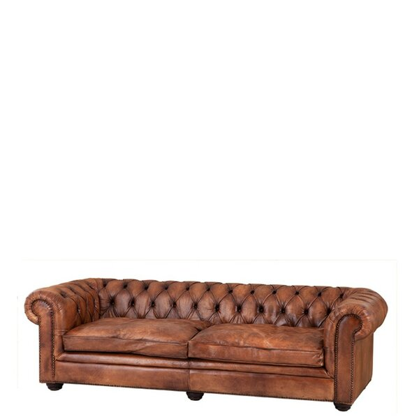 Club Gymnasium Chesterfield Sofa by Eichholtz