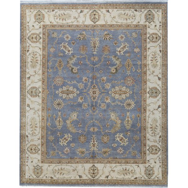 Brookhaven Oriental Hand-Knotted Blue/Brown Rug