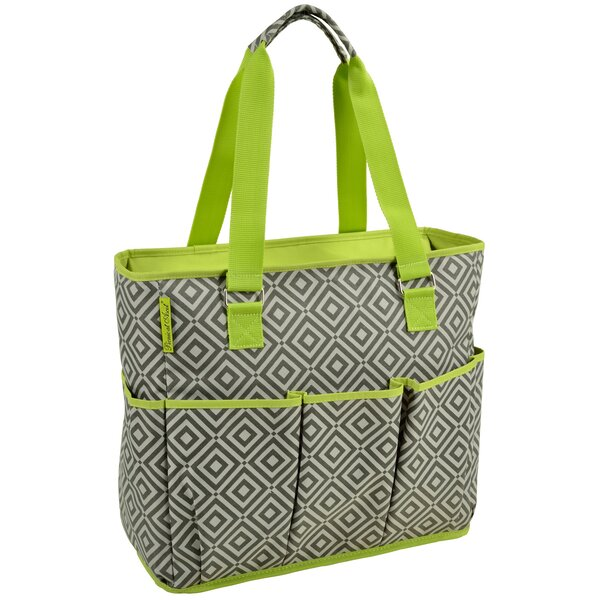 Large Insulated Multi Pocket Tote Cooler by Picnic at Ascot