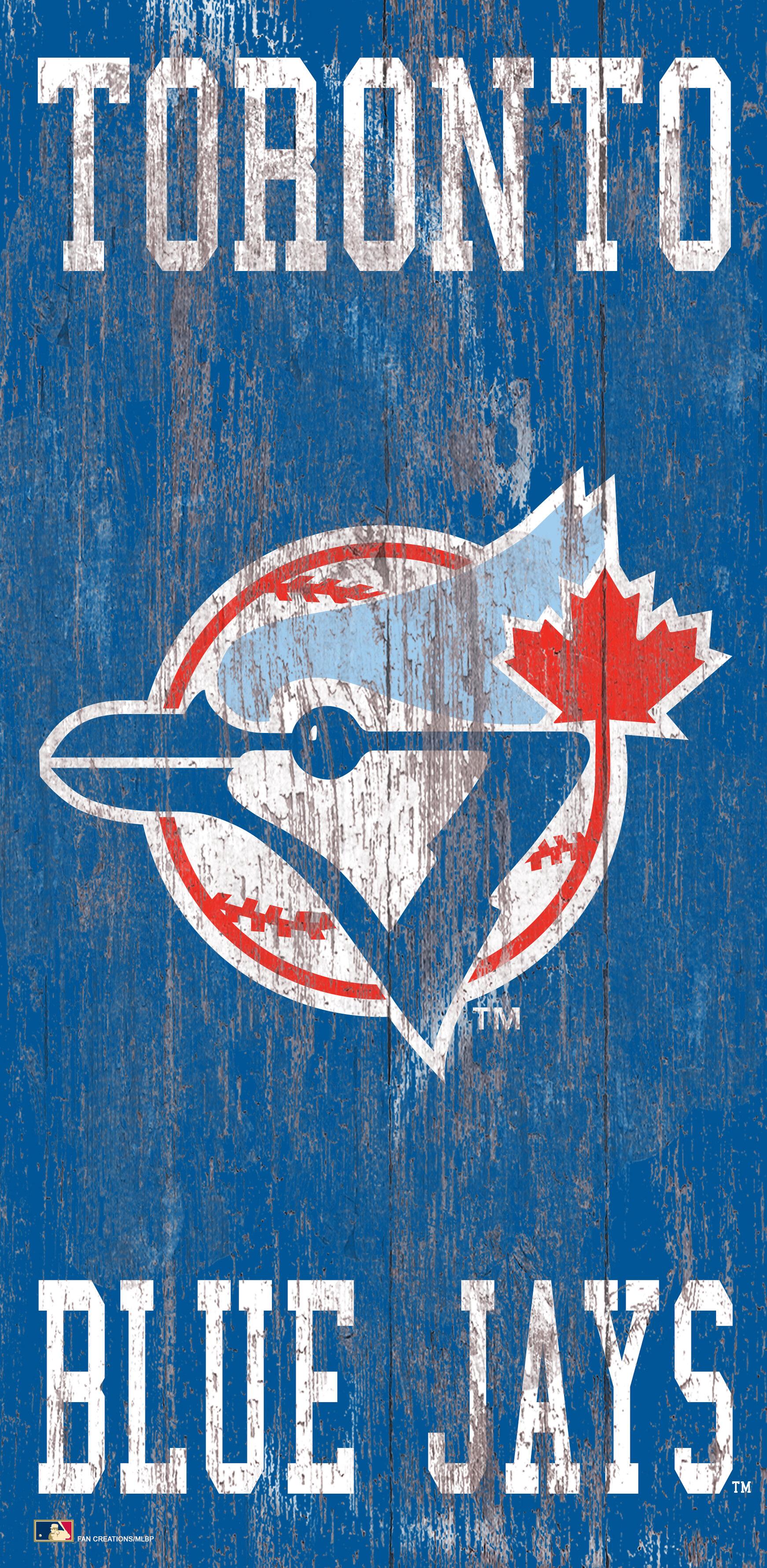 Toronto Blue Jays Wall Logo  Wall Art