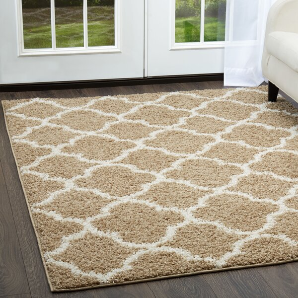 Synergy Beige/White Area Rug by Nicole Miller