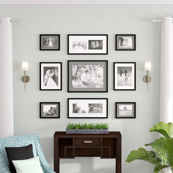 Zipcode Design Koontz 9 Piece Wood Matted Picture Frame Set & Reviews by Zipcode Design