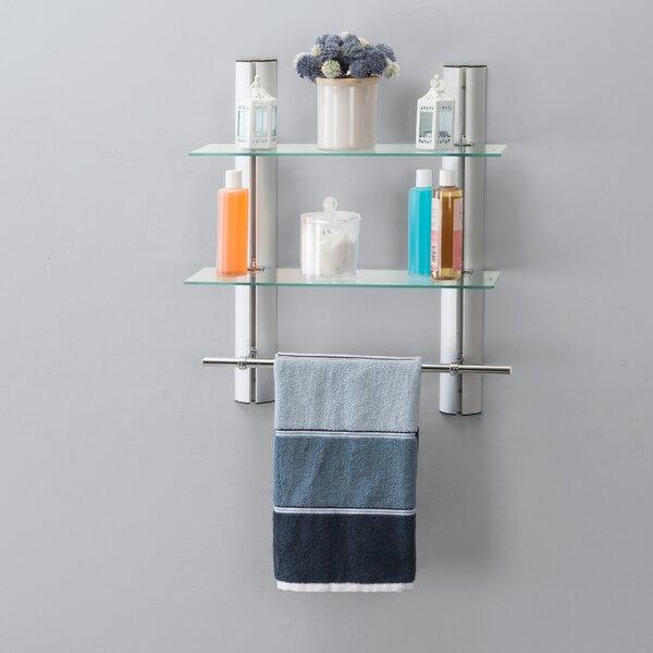 Vevay 15.75'' W x 26.25'' H x 10.5'' D Wall Mounted Bathroom Shelves