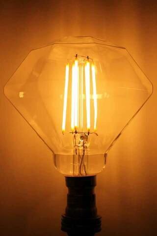 40W Orange E26 Incandescent Edison Specialty Light Bulb by HCD USA