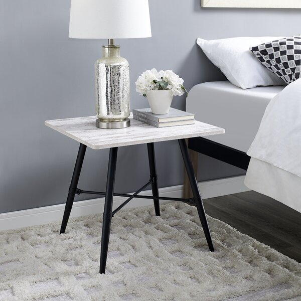 Pruett End Table by Ebern Designs