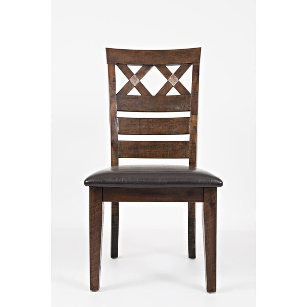 Trevon Solid Wood Dining Chair (Set of 2) by Millwood Pines