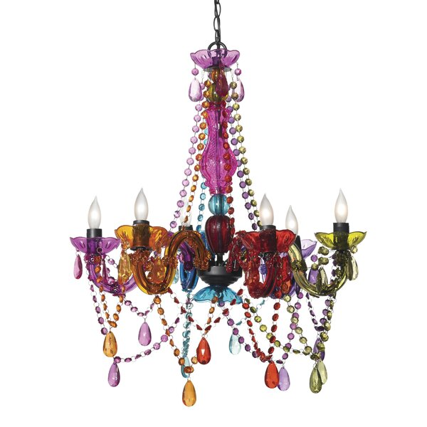 Barhorst 6-Light Candle Style Chandelier by Harriet Bee