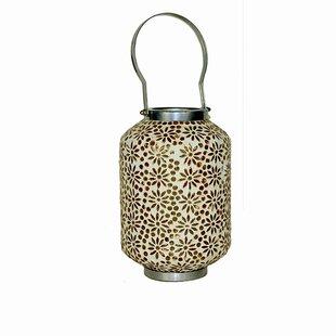 Find for Mosaic Ceramic/Metal Lantern By Bungalow Rose