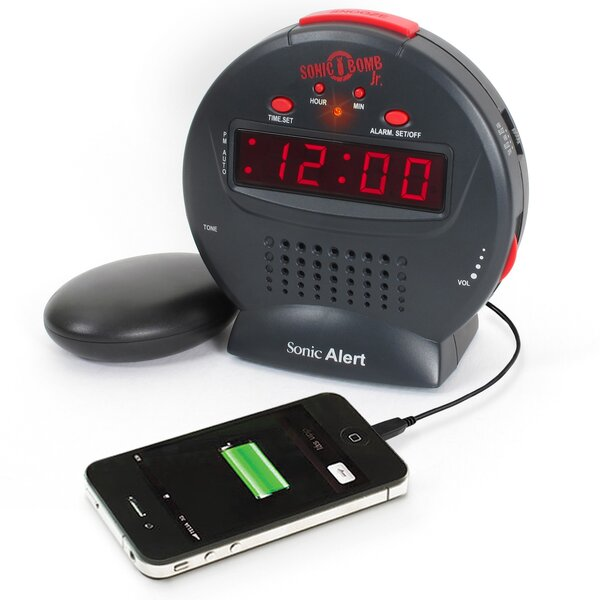 Bomb Jr. Tabletop Clock by Sonic Alert