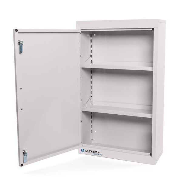 18 W x 30 H Wall Mounted Cabinet by Lakeside Manufacturing