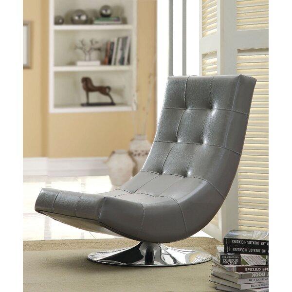 Compas Swivel Lounge Chair By Orren Ellis