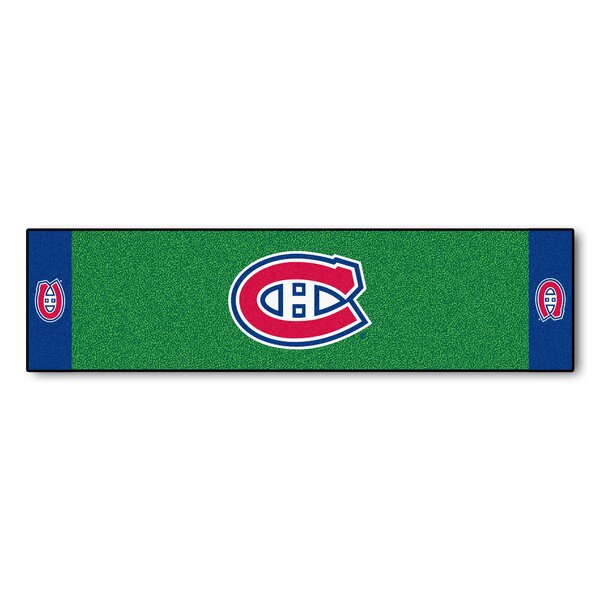NHL - Montreal Canadiens Putting Green Doormat by FANMATS