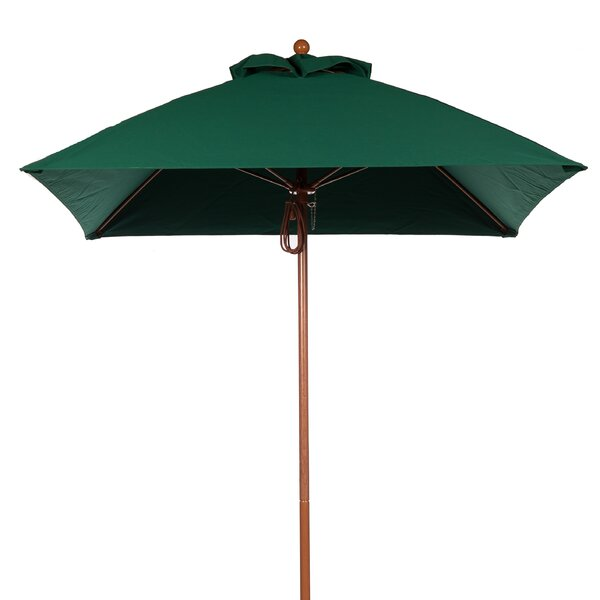 6.5' Square Market Umbrella by Frankford Umbrellas