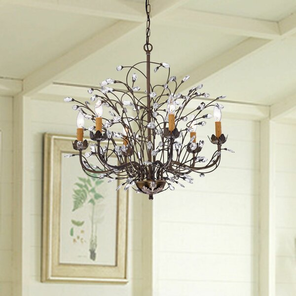 Timberlane 6-Light Candle Style Classic / Traditional Chandelier by Astoria Grand Astoria Grand