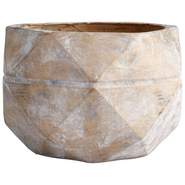 Gilbralter Cement Pot Planter by Cyan Design