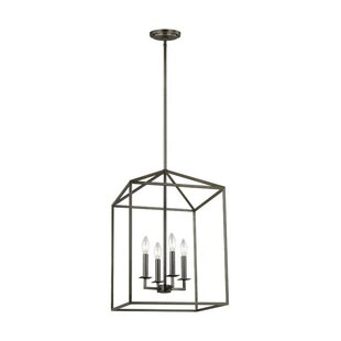 Great Price Odie 4-Light Square/Rectangle Chandelier By Laurel Foundry Modern Farmhouse