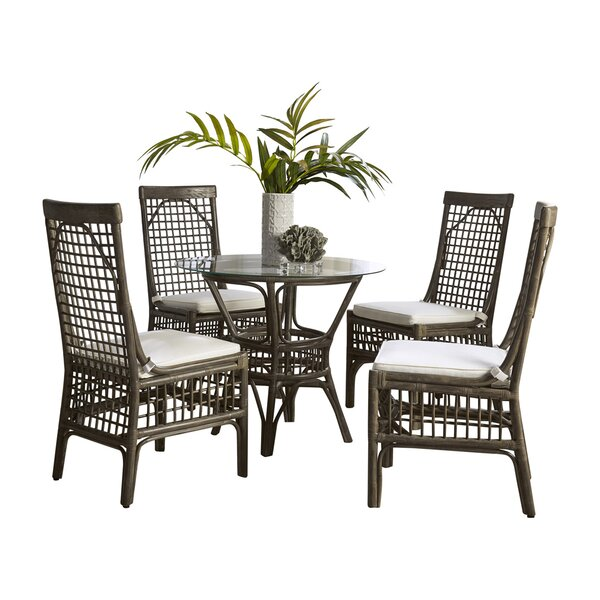 Millbrook 5 Piece Dining Set by Panama Jack Sunroom Panama Jack Sunroom