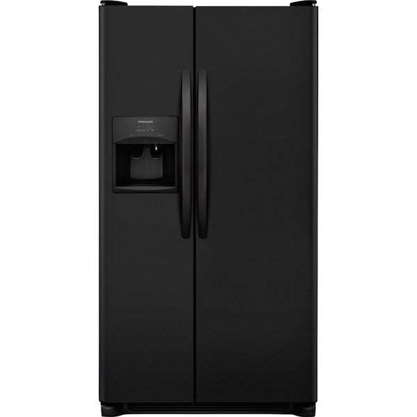 25.5 Cu ft. Side-by-Side Refrigerator with LED Lighting by Frigidaire