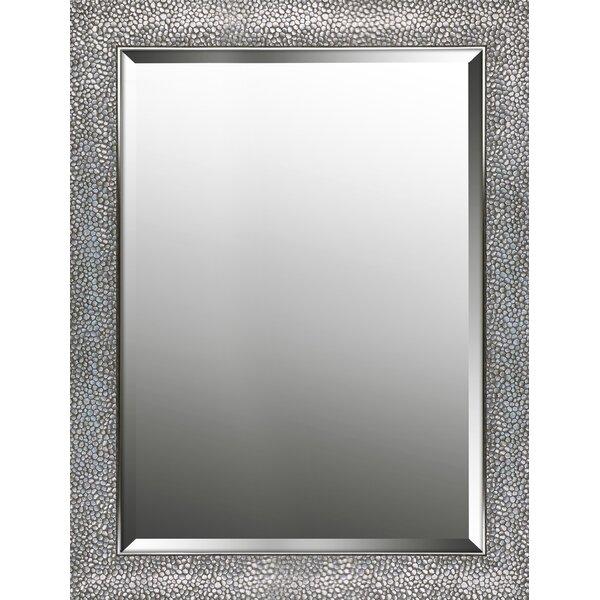 Horizontal Pattern Beveled Accent Mirror by Rosdorf Park