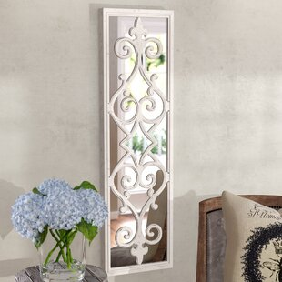 Lark Manor Politte Framed Decorative Scroll Wall Mirror