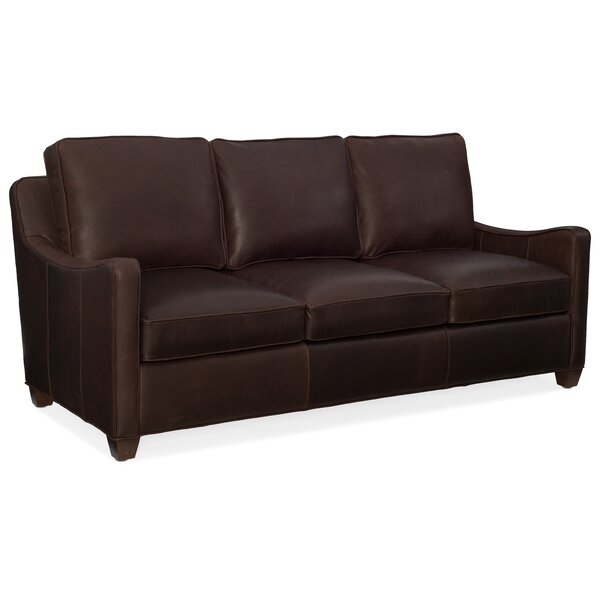 Dalton Leather Configurable Living Room Set by Bradington-Young