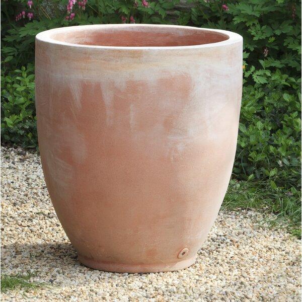 Foss Round Terra Cotta Pot Planter by Red Barrel Studio