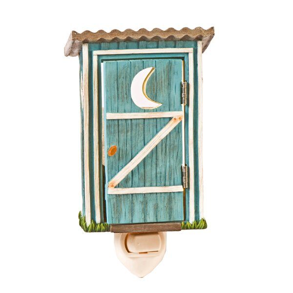 Outhouse Night Light by Outside Inside