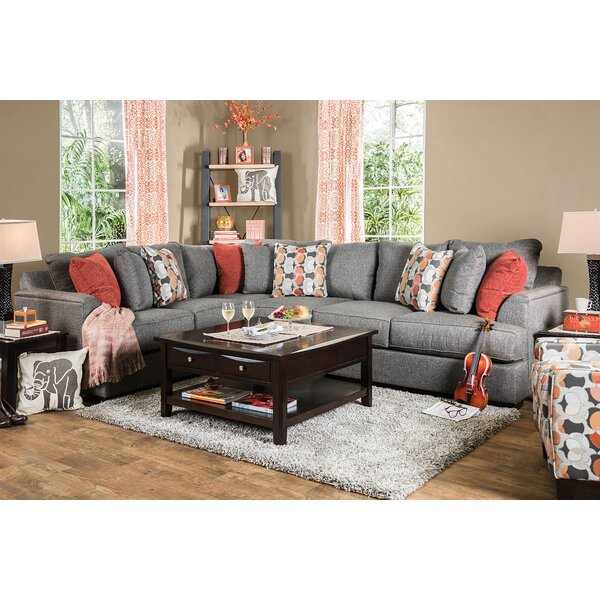 Largent Left Hand Facing Sectional By Red Barrel Studio