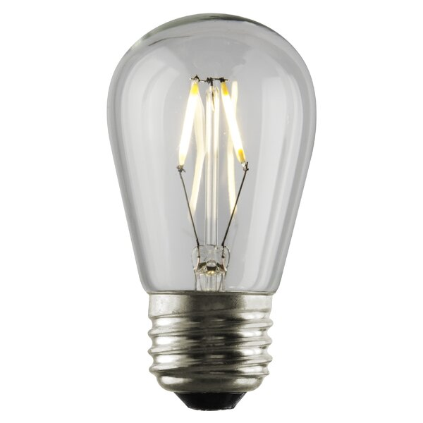 1W E26 LED Light Bulb by Sunset Lighting