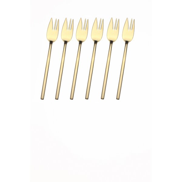 Due Ice 18/10 Stainless Steel Cake Fork (Set of 6) by MEPRA