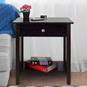 Vanderbilt 1 Drawer Nightstand by Matrix