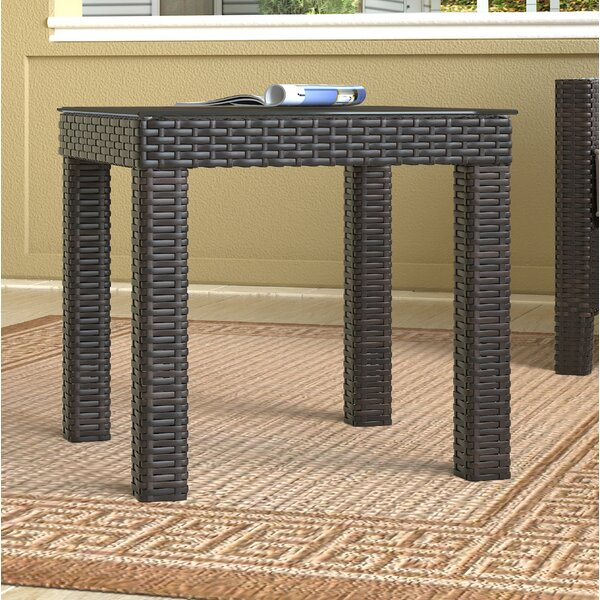 Tahoe Outdoor Wicker Side Table by Serta at Home
