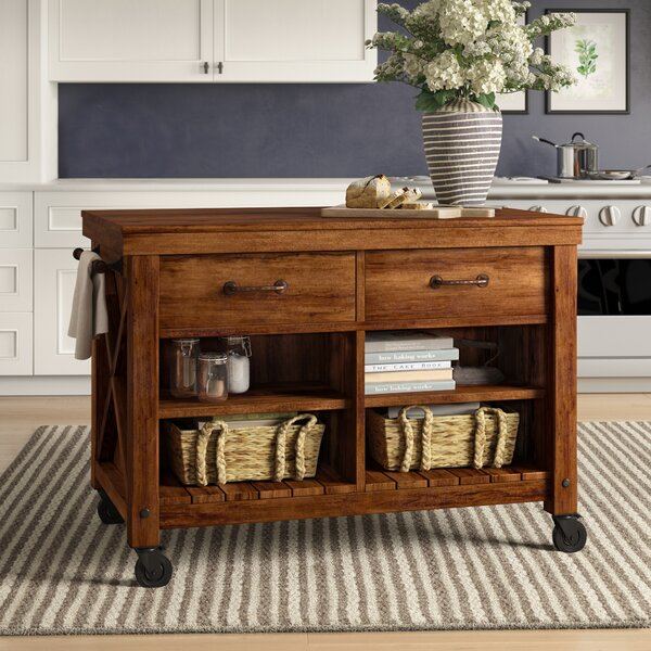 Vargas Kitchen Cart by Birch Lane™ Heritage