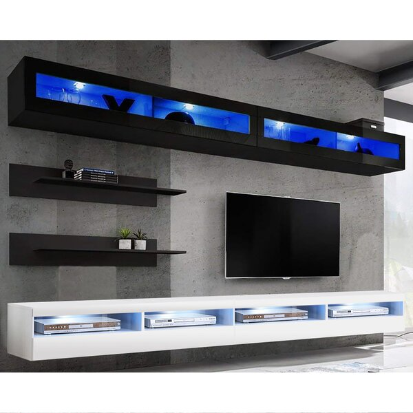LinoLakes Floating Entertainment Center For TVs Up To 70