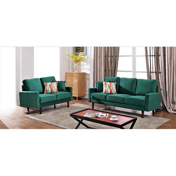 Enjoyable Modern Collection Saginaw 2 Piece Living Room Set Sweet Ncnpc Chair Design For Home Ncnpcorg